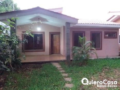 Casa en renta en el km 9.5 carr. Masaya