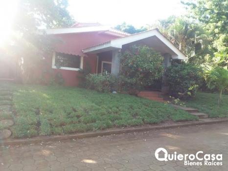 Se alquila casa en Km 9.5 Carr. Masaya