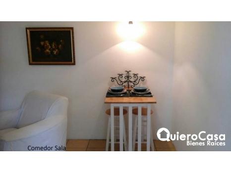 Renta de apartamento amueblado en Lomas de villa Fontana