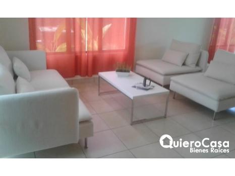 Se renta casa con o sin muebles Santo Domingo