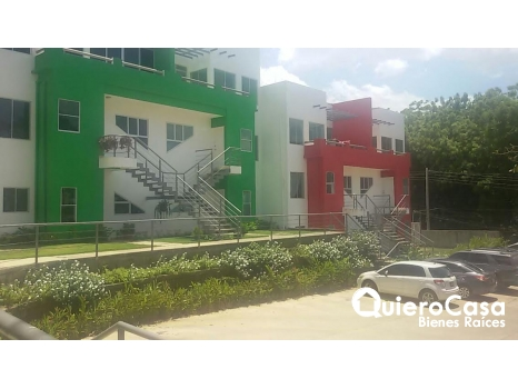 Se renta apartamento en las primera entrada a las colinas