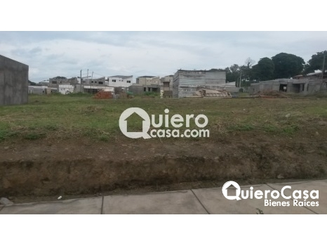 Se vende terreno de en la estancia de santo domingo,