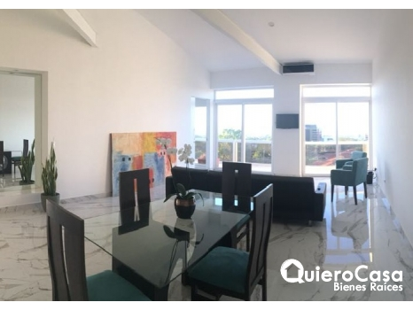 Apartamento amueblado en Vista lago, Las Cumbres