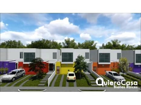 Se vende moderna casa en Carretera Masaya
