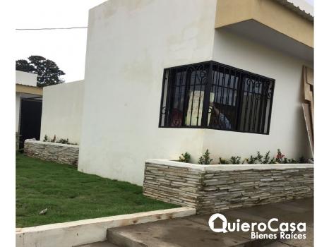 Se renta casa nueva en Carretera Masaya
