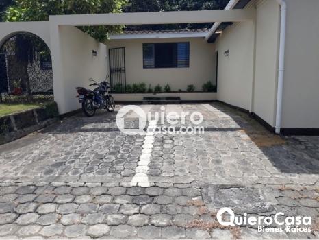 Alquiler de casa para oficina en Villa Fontana