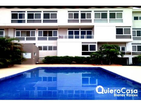 Precioso apartamento en renta vista lago, las cumbres