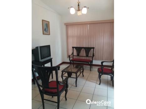 Renta apartamento amueblado en Las Colinas