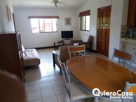 Se renta apartamentos amueblado en Las Colinas