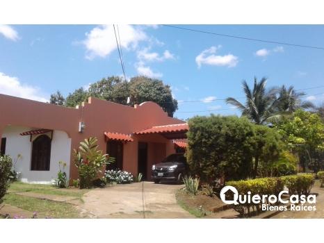 Renta de cómoda casa en Ticuantepe