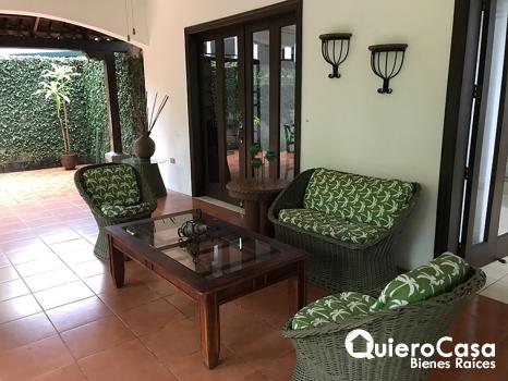 Casa amueblada en La estancia Santo Domingo