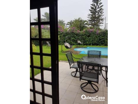 Hermosa casa en renta en Estancia de Santo Domingo, Las Hadas.
