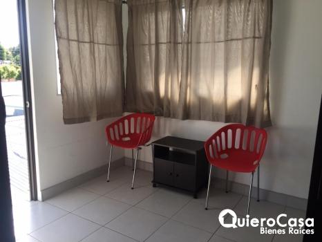 Renta de apartamento amueblado en Colonial Los Robles