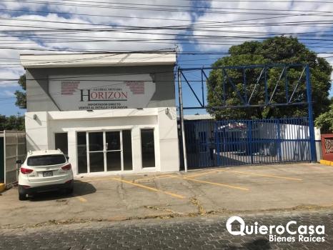 Alquiler de local comercial en Managua