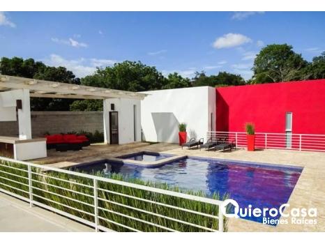 Se renta precioso apartamento amueblado en Pinares Santo Domingo