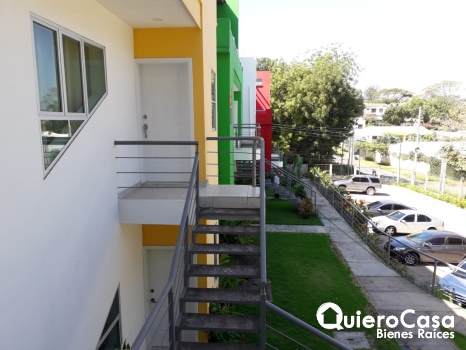 Precioso apartamento con linea blanca en Las Colinas