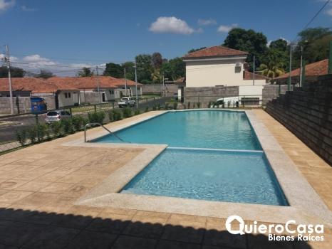 Alquiler de Preciosa casa en Terrazas de Santo Domingo