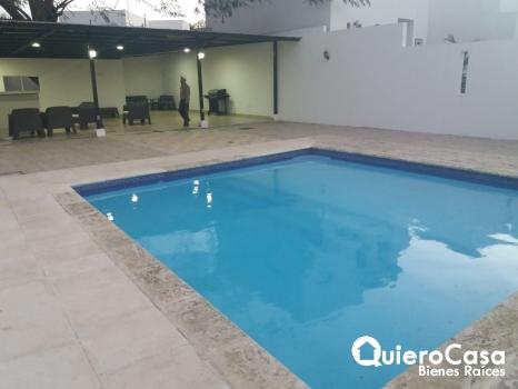Preciosa casa en renta en Santo Domingo