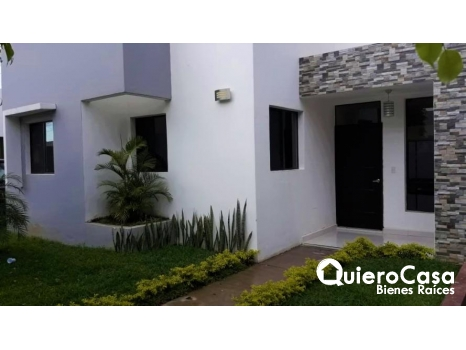 Renta de preciosa casa en alamedas de Esquipula
