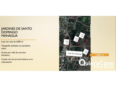Venta de Terreno en Jardines de Santo Domingo TK0318