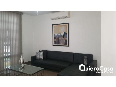 Se renta apartamento amueblado en villa Fontana