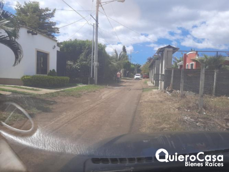 Se vende terreno carretera Masaya