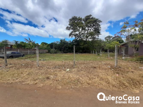 Se vende terreno en carretera Masaya
