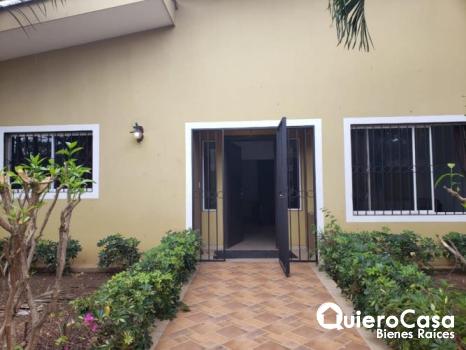 Apartamento amueblado en renta en Altamira