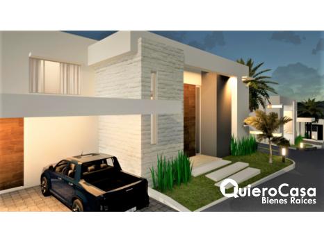 Proyecto de 4 casas en pre-construccion en Altos de Santo Domingo