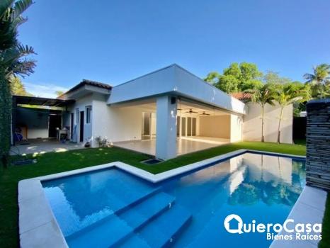 Espectacular residencia en venta en santo Domingo