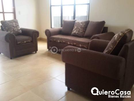 Preciosa casa full muebles, en residencial seguro