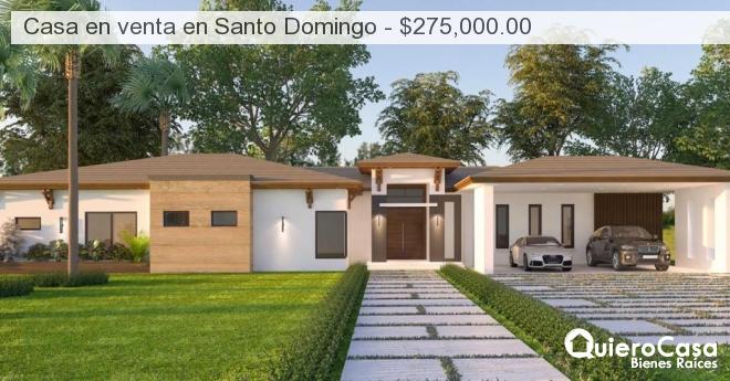 Casa en venta en Santo Domingo - $275,000.00