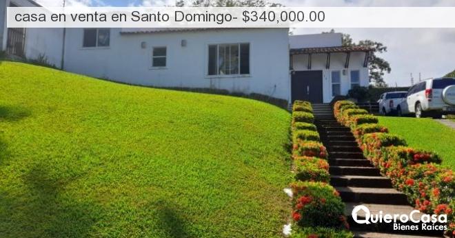 casa en venta en Santo Domingo- $340,000.00